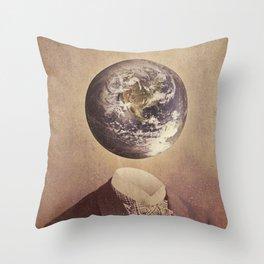 Each Head Is A World Throw Pillow