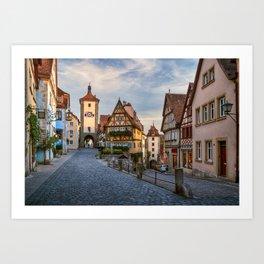 Fairy Tale Town Art Print