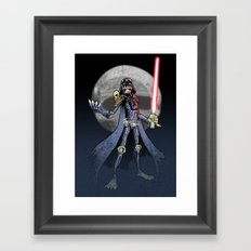 Judge Darth Framed Art Print