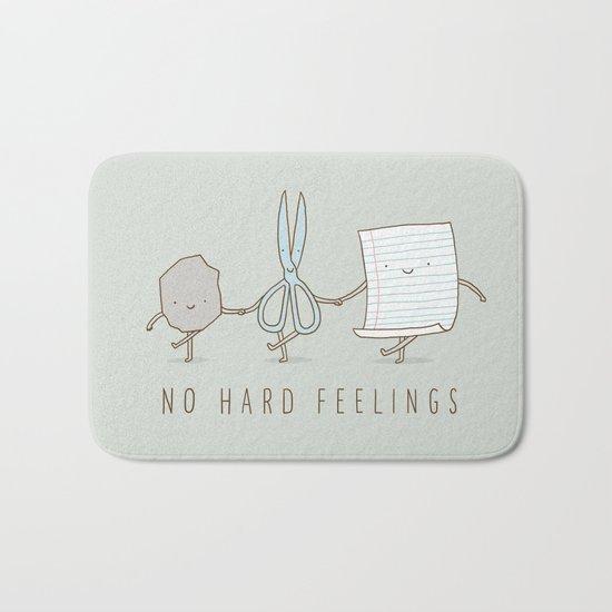 No Hard Feelings Bath Mat