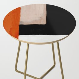 abstract minimal 14 Side Table