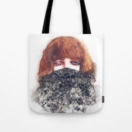 White Eye Tote Bag