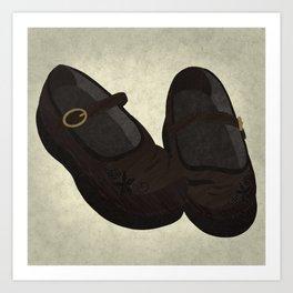 How Beautiful the Feet (Mosiah 12:21; 15:15-18) Art Print