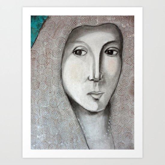 La Bella Donna Art Print