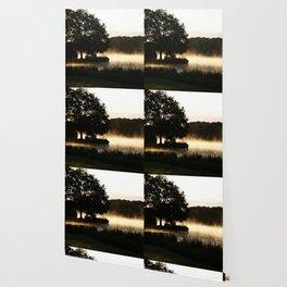 Morning Lake Scene Wallpaper