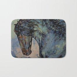 Friesian Stallion Bath Mat