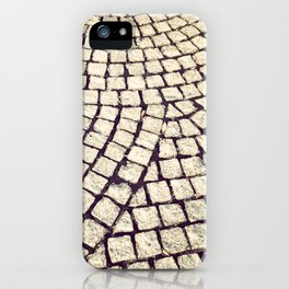 cobblestone pathway iPhone Case