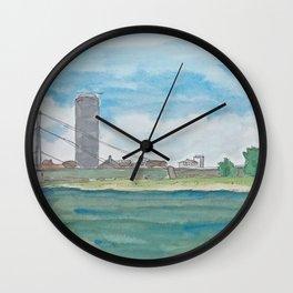 Dusseldorf Rhein Wall Clock