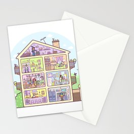 Introvert Lane Stationery Cards