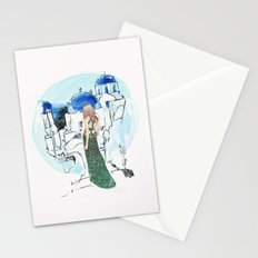 Meet Me In Santorini Stationery Cards