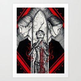 Blood mage Art Print