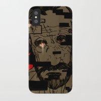 glitch iPhone & iPod Cases featuring Glitch by Margret Stewart