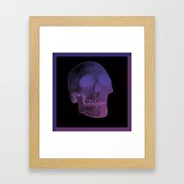 Pastel Skull Framed Art Print