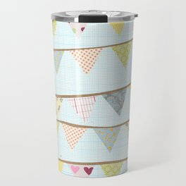 bunting fun Travel Mug