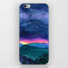 Good Night Smoky Mountains iPhone Skin