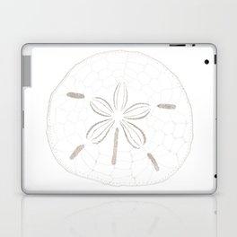 Sand Dollar Dreams - Brown on White Laptop & iPad Skin