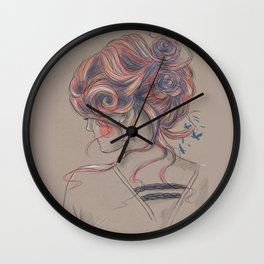 Colourblind 2 Wall Clock