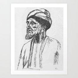 Maimonides Art Print
