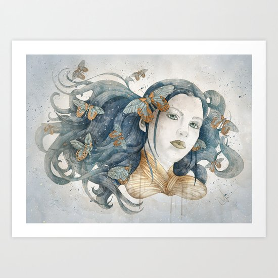 Imago stage Art Print