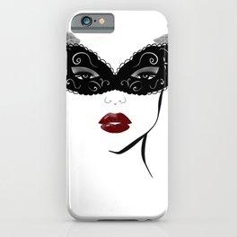 Masquerade mask,fashion decor iPhone Case