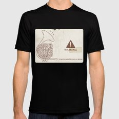 Horn players, watch out!! :P MEDIUM Mens Fitted Tee Black
