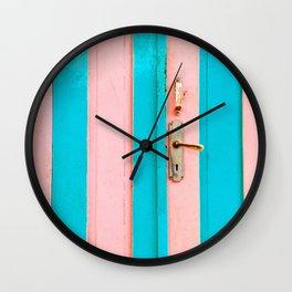 Beautiful Mundane 03 - The Fancy Door Wall Clock