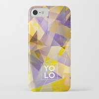 sayings iPhone & iPod Cases featuring Dreams of YOLO Vol.1 by HappyMelvin