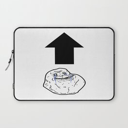 Forever Alone Laptop Sleeve