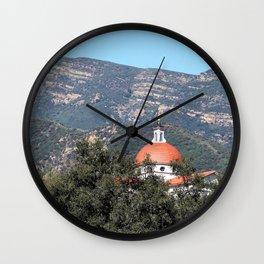 Thomas Aquinas Chapel Wall Clock