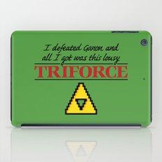 Lousy Triforce iPad Case