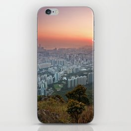 Sunrise over the City iPhone Skin