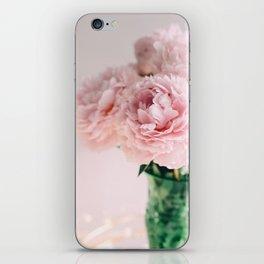 Blush Peonies iPhone Skin
