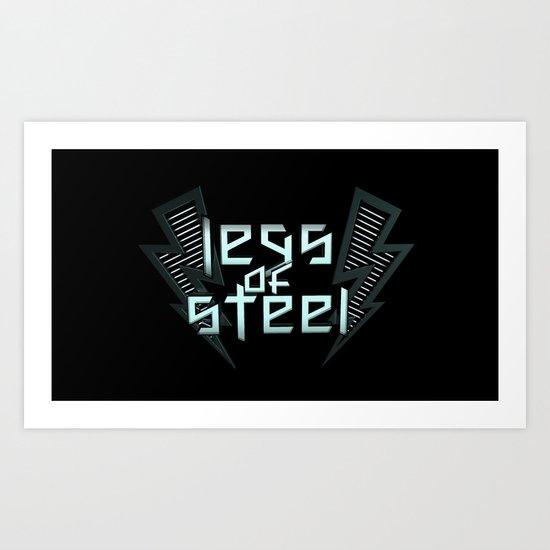 Legs Of Steel Art Print