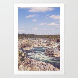 Great Falls Potomac River II Art Print