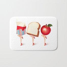 Lunch Ladies Pin-Ups Bath Mat