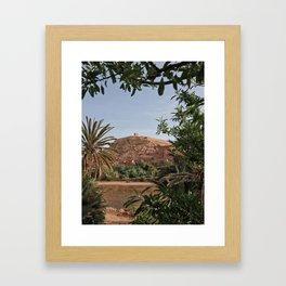 Moroccan Kasbah Framed Art Print