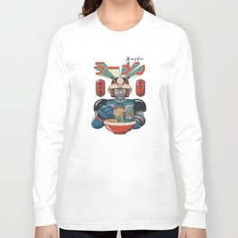 Super Ramen Bot Long Sleeve T-shirt