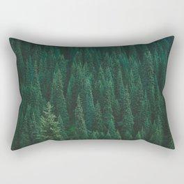 deep woods. Rectangular Pillow