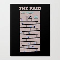 The Raid Canvas Print