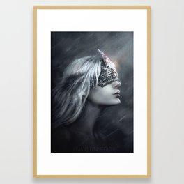 fire keeper Framed Art Print