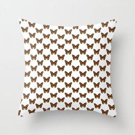 Monarch Butterfly Pattern Throw Pillow