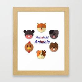 Home Animals Framed Art Print