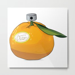 Tangerine: the Smell of Victory Metal Print