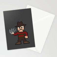 Nightmare on Pixel St. Stationery Cards