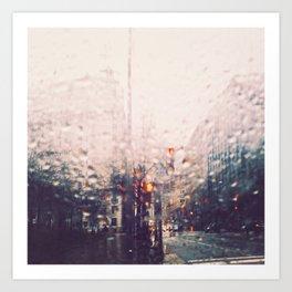 DC Rain Art Print