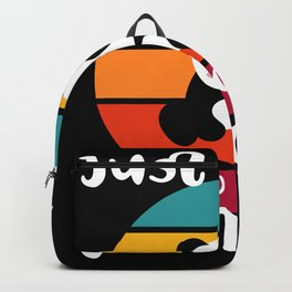 Girl who Loves Pandas Pet Animals Backpack