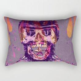 Moto Head Rectangular Pillow