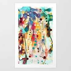 Mulberry Jane Art Print