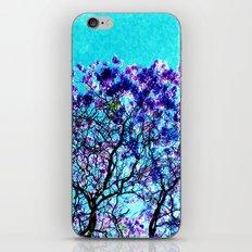 jacaranda iPhone Skin