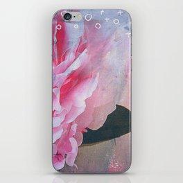 Pretty in Pink Peony iPhone Skin